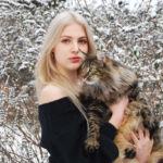 Joanna - norvég erdei macska - és Panka