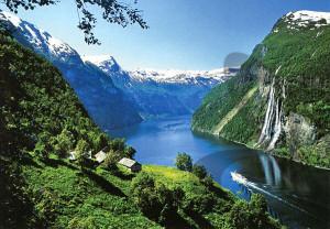 Norvégia - tájkép