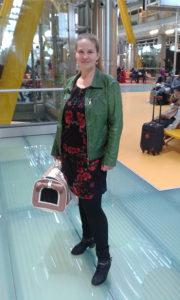 Repülőtéren Masekkal